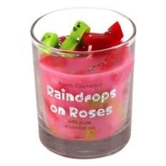 Свеча с эфирными маслами Мокрая роза