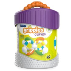 Конструктор Better Builders. Grippies Curves из 20 деталей