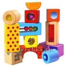 Деревянные кубики со звуком от Simba