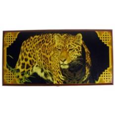 Нарды Леопард с полем для шашек