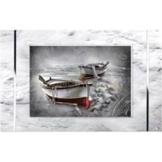 Картина с посеребрением Надежная гавань