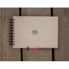 Скетчбук-блокнот Falafel Sketchbook S5 Grey A5