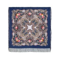 Павлопосадский шерстяной платок Сон бабочки
