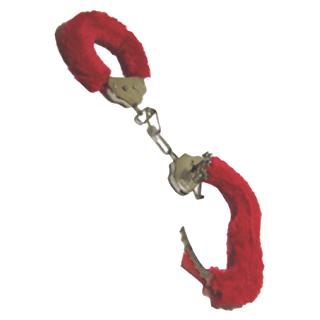 Плюшевые наручники