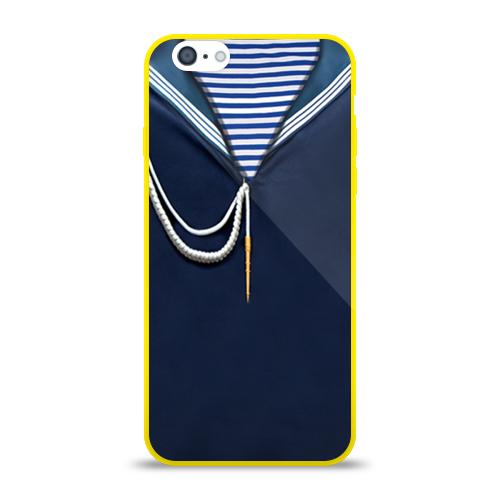 Силиконовый чехол для Apple iPhone 6 Форма ВМФ