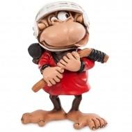 Подарочная фигурка на год обезьяны «Хоккеист»