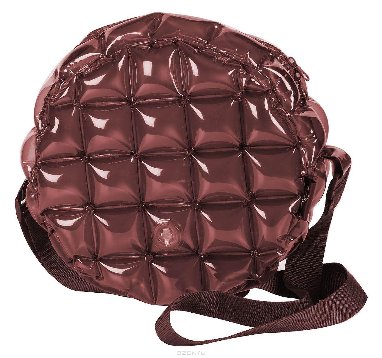 Надувная сумка Inflat Decor, цвет: шоколадный