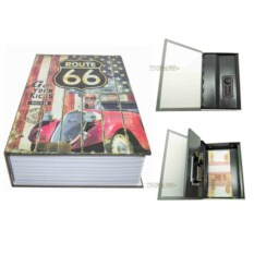 Книга-сейф с кодовым замком Route 66