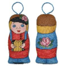 Набор для вышивания Ванька с гармошкой