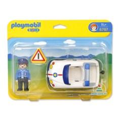 Игровой набор Playmobil 123 «Полицейская машина»
