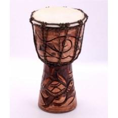 Западноафриканский резной барабан (30 см)
