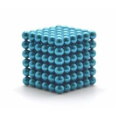 Синий Нео Кубик Альфа (5 мм)