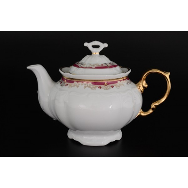 Чайник заварочный Мария Луиза Красная лилия