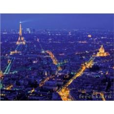 Пазл Взгляд на Париж