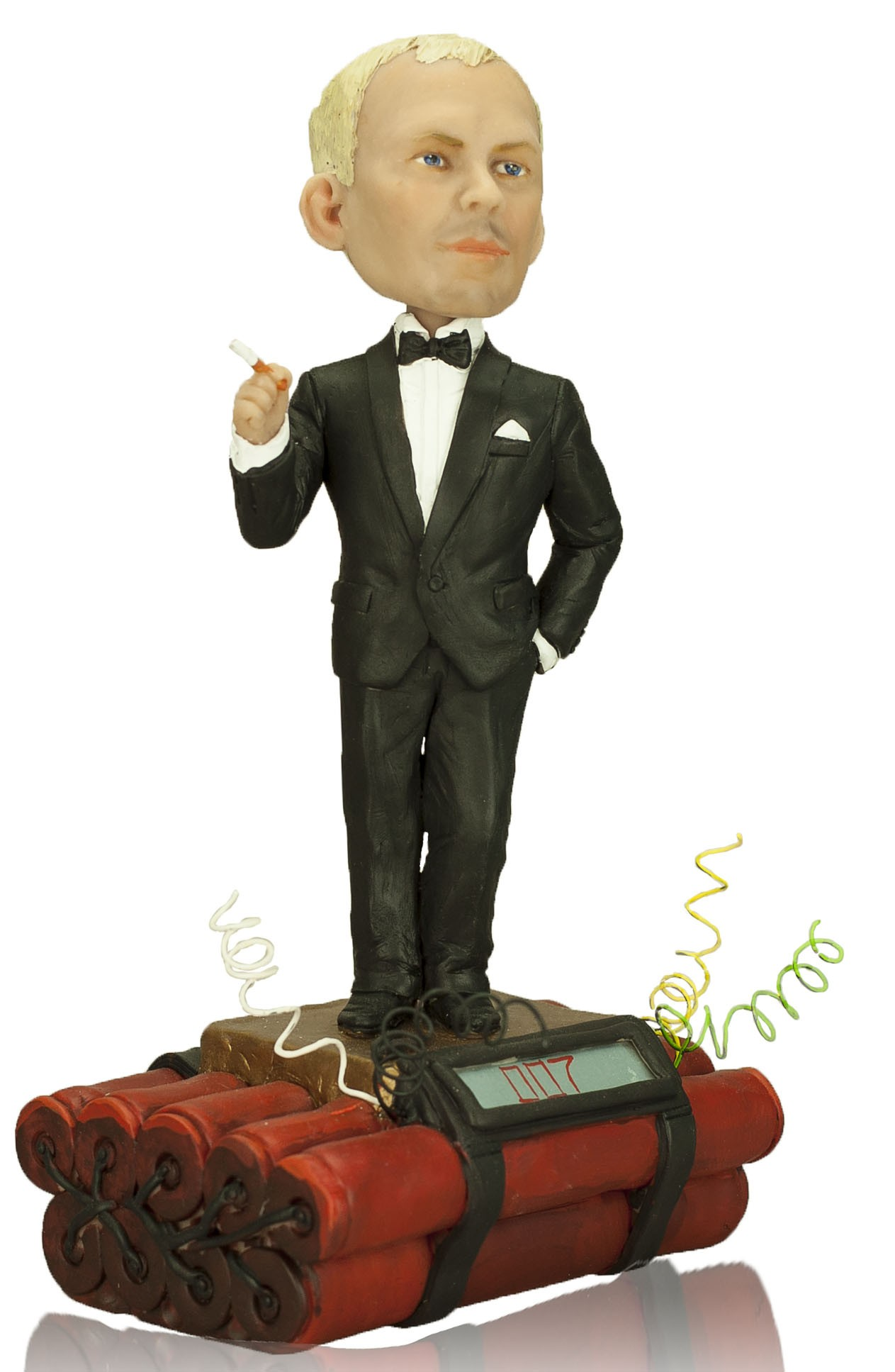 Кукла-шарж по фото «Бонд. Джеймс Бонд»