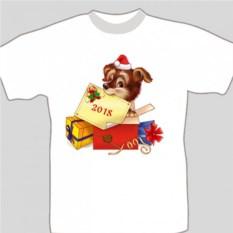 Подарочная футболка «Давайте знакомиться!»