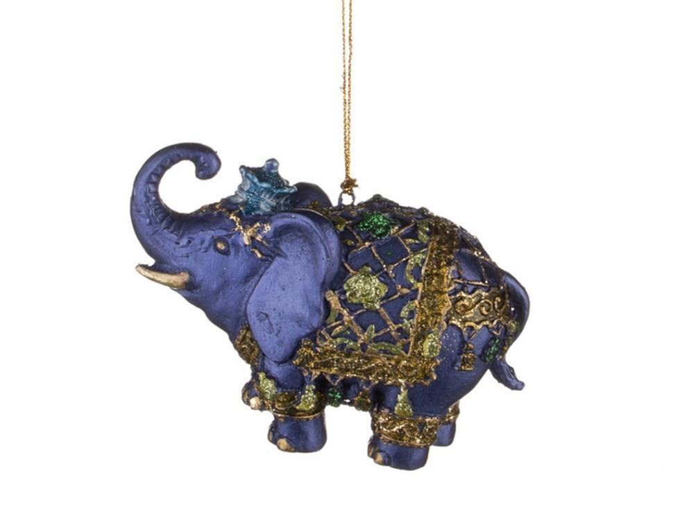 Елочная игрушка Слон