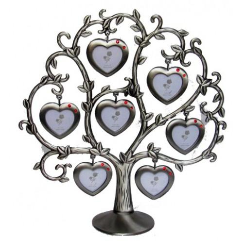Фоторамка Семейное дерево на 7 фото 3х4 см