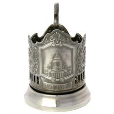 Подстаканник никелированный Исаакиевский собор