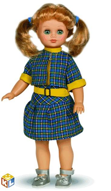 Озвученная кукла Лиза 2, 42 см, Весна