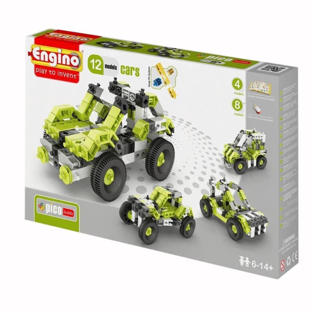 Конструктор Pico builds/inventor Автомобили (12 моделей)