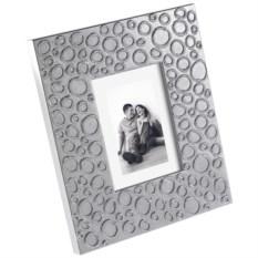 Серебристая рамка для фотографий