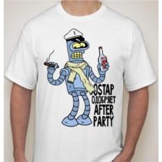 Мужская футболка Ostap одобряет