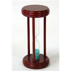 Песочные часы на 15 минут (фиолетовый песок)