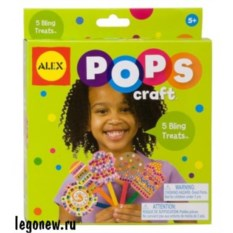Набор для творчества POPS CRAFT Укрась 5 леденцов
