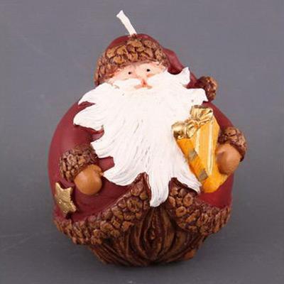 Свеча «Дед мороз с подарками»