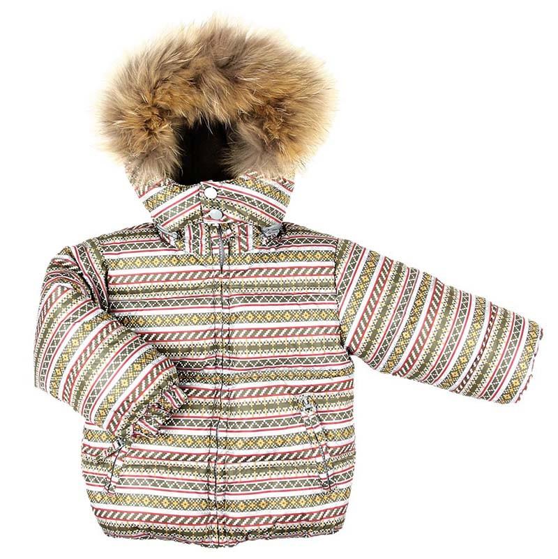 Комплект Fun Time куртка и полукомбинезон цвет: хаки 80-й р.