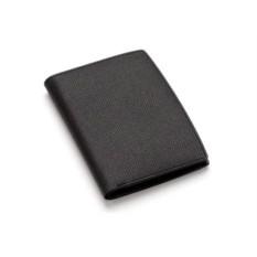 Вертикальный черный бумажник Graf von Faber-Castell