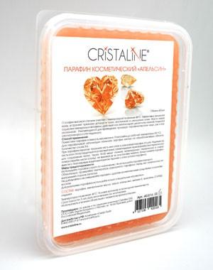 Косметический парафин CRISTALINE, апельсиновый