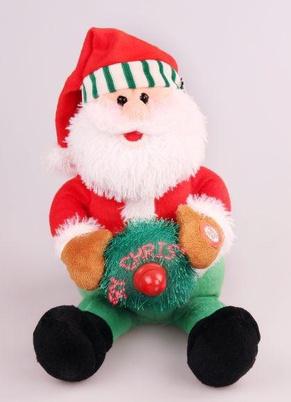 Мягкая игрушка Дед Мороз механическая