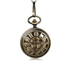 Винтажные карманные часы с крышкой Циферблат