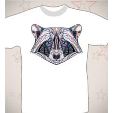 Подарочная футболка «Енот»