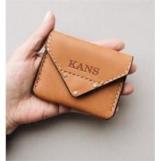 Оранжевый чехол для кредитных карточек на магните