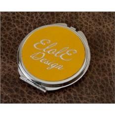 Карманное зеркальце, коллекция Elole Design (желтый, тип 2)