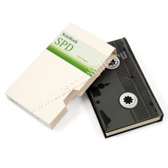 Блокнот «Видеокассета»