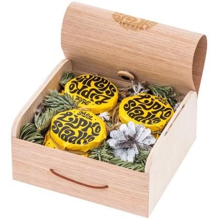 Подарочный новогодний набор мёда