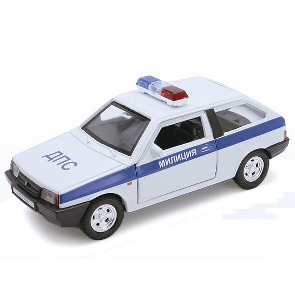 Модель машины Welly LADA 2108 МИЛИЦИЯ ДПС