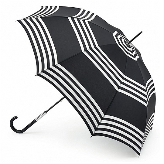 Зонт-трость Lulu guinness stripes