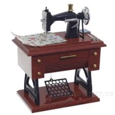Декоративная фигурка с музыкой Швейная машинка