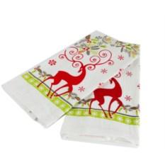 Набор полотенец в подарочной коробке Письмо Деду Морозу