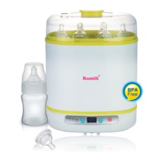 Стерилизатор детских бутылочек Ramili steam sterilizer
