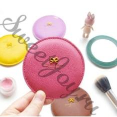 Карманное зеркало Ribbon Mirror, розовое
