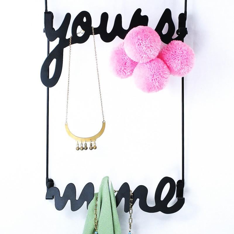 Надверные вешалки Yours&Mine