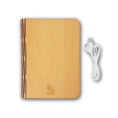 Светильник Lumobook (цвет: клен)