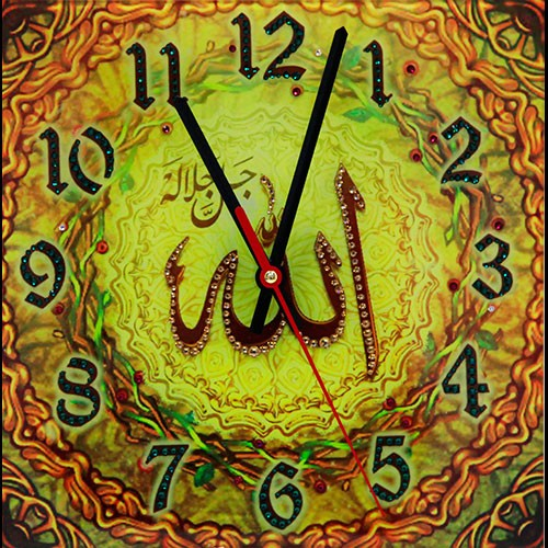 Часы с кристаллами Swarovski Аллах