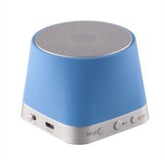 Голубой портативный Bluetooth динамик No Ufos